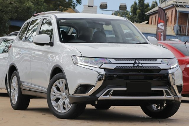 New Mitsubishi Outlander ZL MY21 ES 7 Seat (AWD) Gunnedah, 2021 Mitsubishi Outlander ZL MY21 ES 7 Seat (AWD) White 6 Speed CVT Auto Sequential Wagon