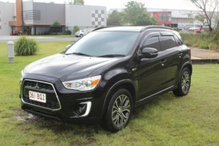 2016 Mitsubishi ASX XC MY17 LS 2WD Black 6 Speed Constant Variable Wagon.