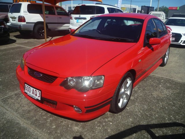 Used Ford Falcon BA Mk II XR6 Morayfield, 2004 Ford Falcon BA Mk II XR6 Red 5 Speed Manual Sedan
