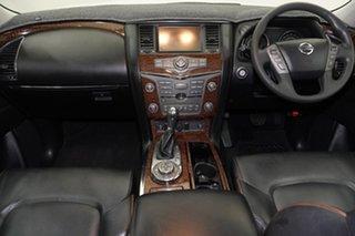 2013 Nissan Patrol Y62 TI-L White 7 Speed Sports Automatic Wagon