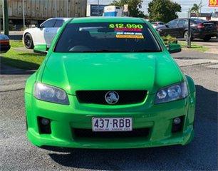 2010 Holden Commodore VE SV6 Green 6 Speed Sports Automatic Sedan.