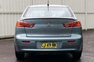 2009 Mitsubishi Lancer CJ MY09 ES Blue 6 Speed Constant Variable Sedan