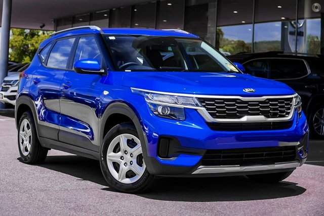 Demo Kia Seltos SP2 MY21 S 2WD Reynella, 2021 Kia Seltos SP2 MY21 S 2WD Blue 1 Speed Constant Variable Wagon