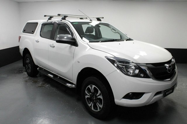 Used Mazda BT-50 UR0YG1 XTR Rutherford, 2017 Mazda BT-50 UR0YG1 XTR White 6 Speed Sports Automatic Utility