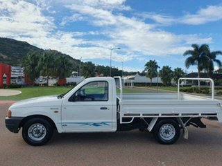 2001 Ford Courier PE GL 4x2 Cool White 5 Speed Manual Cab Chassis