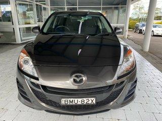 2009 Mazda 3 BL Neo Grey 5 Speed Sports Automatic Sedan.
