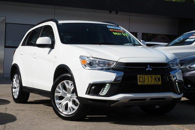 Used Mitsubishi ASX XC MY19 ES 2WD Homebush, 2019 Mitsubishi ASX XC MY19 ES 2WD White 1 Speed Constant Variable Wagon