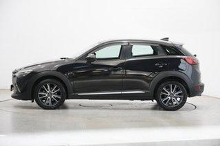 2018 Mazda CX-3 DK4W7A Akari SKYACTIV-Drive i-ACTIV AWD Black 6 Speed Sports Automatic Wagon.