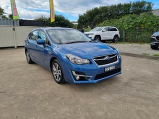 2016 Subaru Impreza G4 MY16 2.0i Lineartronic AWD Premium Blue 6 Speed Constant Variable Hatchback.