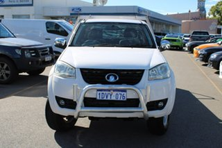 2011 Great Wall V240 K2 White 5 Speed Manual Cab Chassis.