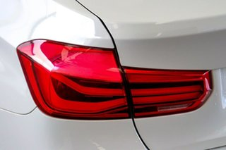 2016 BMW 330i F30 LCI M Sport White 8 Speed Automatic Sedan
