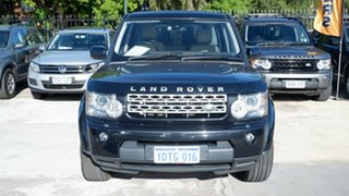 2011 Land Rover Discovery 4 Series 4 MY11 TdV6 CommandShift Black 6 Speed Sports Automatic Wagon.