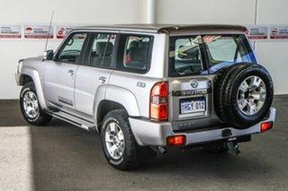 2011 Nissan Patrol GU VII ST (4x4) Silver 4 Speed Automatic Wagon.