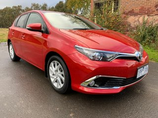 2017 Toyota Corolla ZRE182R Ascent Sport Red Constant Variable Hatchback.
