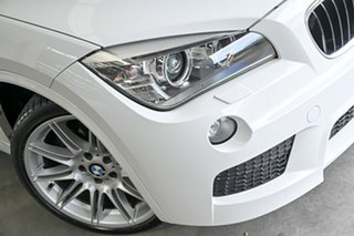 2013 BMW X1 E84 LCI MY0713 xDrive28i Steptronic AWD White 8 Speed Sports Automatic Wagon.