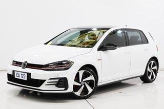 2018 Volkswagen Golf 7.5 MY18 GTi White 6 Speed Manual Hatchback.