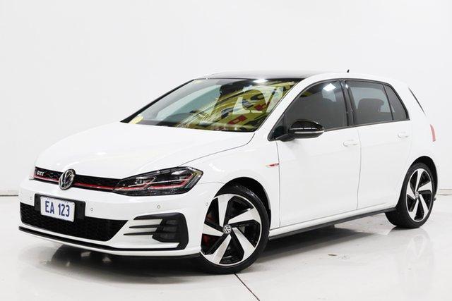 Used Volkswagen Golf 7.5 MY18 GTi Brooklyn, 2018 Volkswagen Golf 7.5 MY18 GTi White 6 Speed Manual Hatchback