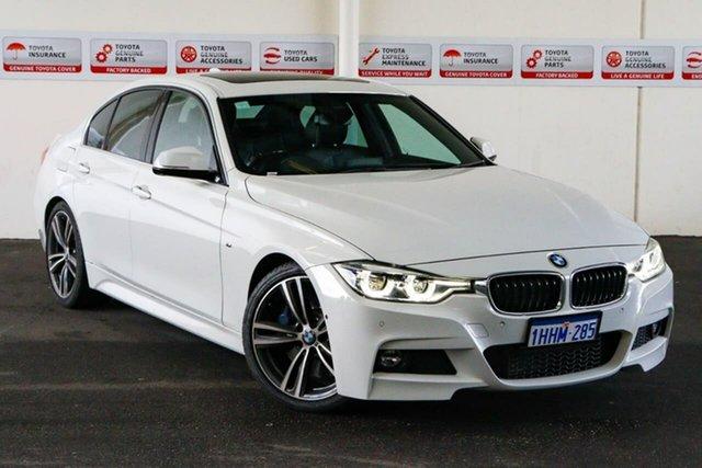 Pre-Owned BMW 330i F30 LCI M Sport Myaree, 2016 BMW 330i F30 LCI M Sport White 8 Speed Automatic Sedan
