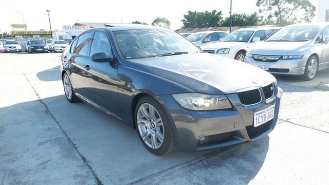 Used BMW 3 Series E90 MY08 320i Steptronic Executive St James, 2008 BMW 3 Series E90 MY08 320i Steptronic Executive Grey 6 Speed Sports Automatic Sedan