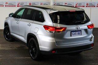 2019 Toyota Kluger GSU50R Black Edition 2WD Silver 8 Speed Sports Automatic Wagon.
