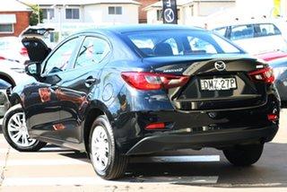 2017 Mazda 2 DL2SAA Neo SKYACTIV-Drive Jet Black 6 Speed Sports Automatic Sedan.