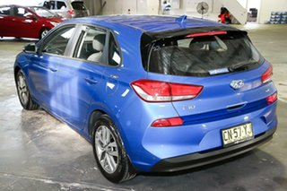 2017 Hyundai i30 PD MY18 Active D-CT Blue 7 Speed Sports Automatic Dual Clutch Hatchback