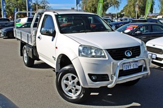 2011 Great Wall V240 K2 White 5 Speed Manual Cab Chassis