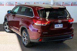 2019 Toyota Kluger GSU50R GX 2WD Deep Red 8 Speed Sports Automatic Wagon.
