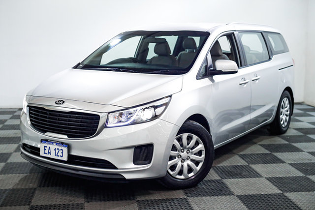 Used Kia Carnival YP MY15 S Edgewater, 2015 Kia Carnival YP MY15 S Silver 6 Speed Sports Automatic Wagon