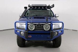 2013 Toyota Hilux KUN26R MY14 SR5 (4x4) Tidal Blue 5 Speed Manual Dual Cab Pick-up.