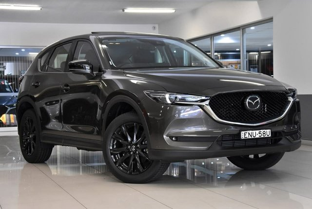 New Mazda CX-5 KF4WLA GT SKYACTIV-Drive i-ACTIV AWD SP Waitara, 2021 Mazda CX-5 KF4WLA GT SKYACTIV-Drive i-ACTIV AWD SP Bronze 6 Speed Sports Automatic Wagon
