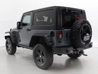 2014 Jeep Wrangler JK MY13 Sport (4x4) Grey 6 Speed Manual Softtop