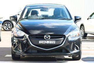 2017 Mazda 2 DL2SAA Neo SKYACTIV-Drive Jet Black 6 Speed Sports Automatic Sedan