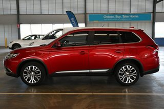 2016 Mitsubishi Outlander ZK MY17 LS Safety Pack (4x2) Red Metallic Continuous Variable Wagon