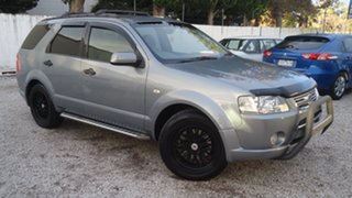 2006 Ford Territory SY Ghia Grey 4 Speed Sports Automatic Wagon.