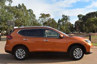 2018 Nissan X-Trail T32 Series II ST-L X-tronic 2WD Orange 7 Speed Constant Variable Wagon.