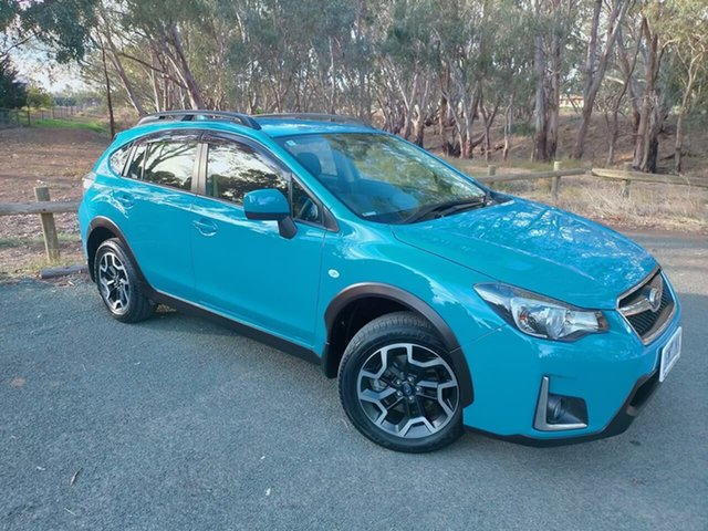 Used Subaru XV G4X MY15 2.0i Lineartronic AWD Echuca, 2015 Subaru XV G4X MY15 2.0i Lineartronic AWD Blue 6 Speed Constant Variable Wagon