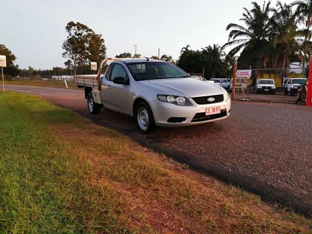 Used Ford Falcon FG Super Cab Pinelands, 2010 Ford Falcon FG Super Cab Silver 5 Speed Sports Automatic Cab Chassis