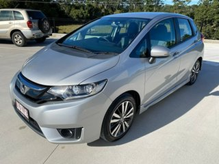 2014 Honda Jazz GF MY15 VTi-L Silver 1 Speed Constant Variable Hatchback.