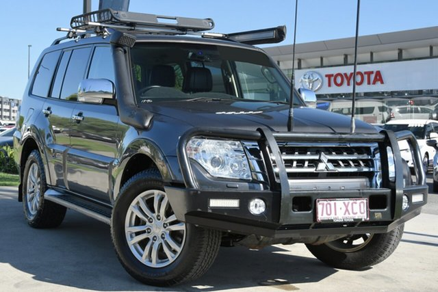 Pre-Owned Mitsubishi Pajero NX MY17 GLS North Lakes, 2017 Mitsubishi Pajero NX MY17 GLS Grey 5 Speed Sports Automatic Wagon