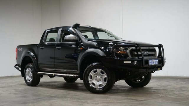 Used Ford Ranger PX MkII 2018.00MY XLS Double Cab Welshpool, 2018 Ford Ranger PX MkII 2018.00MY XLS Double Cab Black 6 Speed Sports Automatic Utility