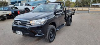 2017 Toyota Hilux GUN126R SR Black 6 Speed Sports Automatic Cab Chassis