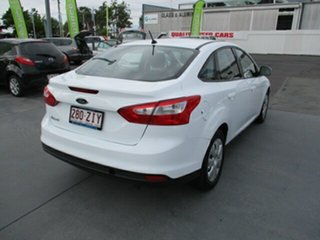 2012 Ford Focus Ambiente White 6 Speed Automatic Sedan