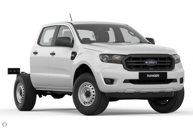 New Ford Ranger PX MkIII 2021.25MY XL Oakleigh, 2021 Ford Ranger PX MkIII 2021.25MY XL White 6 Speed Sports Automatic Double Cab Chassis