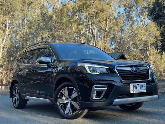 Used Subaru Forester S5 MY19 2.5i-S CVT AWD Echuca, 2019 Subaru Forester S5 MY19 2.5i-S CVT AWD Black 7 Speed Constant Variable Wagon