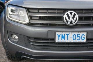 2015 Volkswagen Amarok 2H MY16 TDI420 4MOTION Perm Canyon Grey 8 Speed Automatic Utility