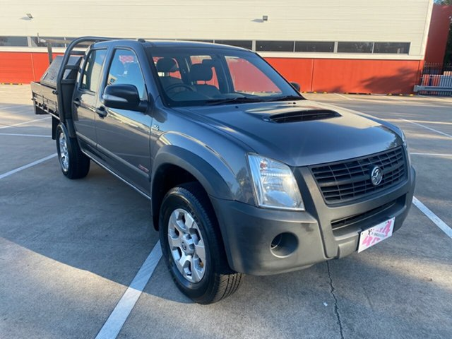 Used Holden Rodeo RA MY08 LX Morayfield, 2008 Holden Rodeo RA MY08 LX Grey 5 Speed Manual Crew Cab Pickup