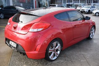 2012 Hyundai Veloster FS2 Coupe D-CT Veloster Red 6 Speed Sports Automatic Dual Clutch Hatchback
