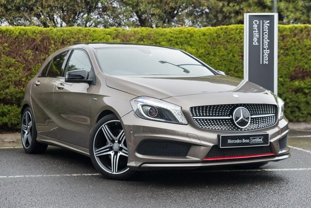 Certified Pre-Owned Mercedes-Benz A-Class W176 A250 D-CT Sport Berwick, 2014 Mercedes-Benz A-Class W176 A250 D-CT Sport Monolith Grey 7 Speed Sports Automatic Dual Clutch