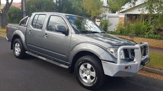 2011 Nissan Navara D40 Series 4 ST-X (4x4) Grey 5 Speed Automatic Dual Cab Pick-up.